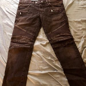 AUTHENTIC men's Balmain jeans SIZE 34